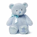 My First Teddy, blue