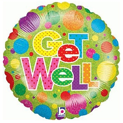 Get well balloon, regular