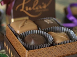 Lula's chocolates, 4 piece box