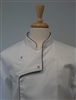 Chef Coat White, Black Trims