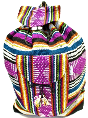 Cuetzalan Mexican Backpack - Multi 4