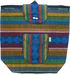 Cuetzalan Mexican Backpack - Multi 0333