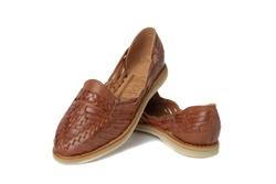 Women's Closed Toe Colonial Huaraches Sandals - Brown