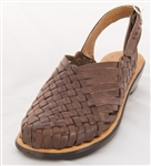 Women's Closed Toe Ciruela Huaraches Sandals Brown