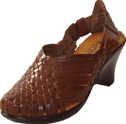 Women's Slingback Huaraches - Brown