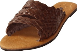 Women's Chancla Huaraches - Brown