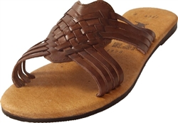 Women's La Dama Huaraches - Brown