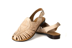 Women's Closed Toe Huarache Sandals - Natural
