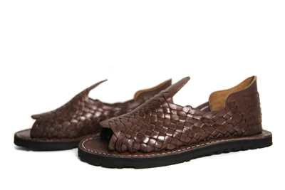 Torero Men's Huarache Sandals - Grueso Brown