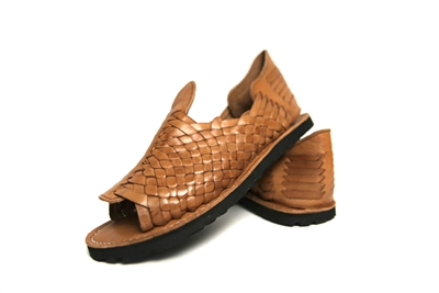 Premium Women's Grueso Huaraches - Reddish Brown