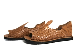Premium Men's Grueso Huaraches - Reddish Brown