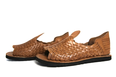 Torero Men's Grueso Huaraches - Reddish Brown