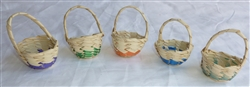 Baby Woven Baskets - Set of 5