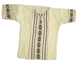 (Medium) Men's Maya Embroidered Shirt - 1002