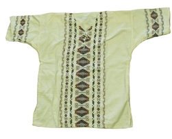 (Large) Men's Maya Embroidered Shirt - 1103