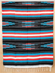 Colorful Mexican Heavy Blankets - Tribal 20