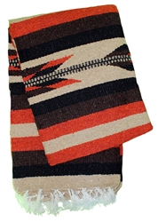Colorful Mexican Heavy Blankets - Tribal 21