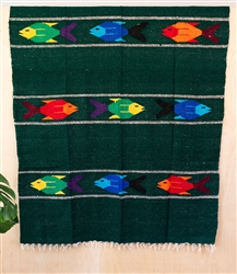 Colorful Mexican Heavy Blankets - Tribal 27