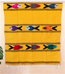 Colorful Mexican Heavy Blankets - Tribal 28