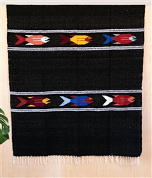 Colorful Mexican Heavy Blankets - Tribal 30
