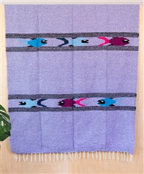 Colorful Mexican Heavy Blankets - Tribal 31