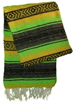 Mexican Blankets - Lime Green/Neon
