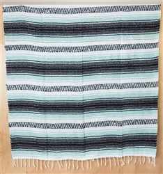 Mexican Blankets - Mint