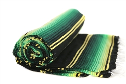 Sarape Mexican Blankets - Green