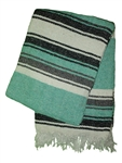 Mexican Blankets - Tribal Mint