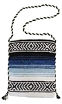 Mexican Blanket Bag - Blue 1