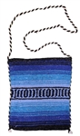 Mexican Blanket Bag - Blue 2