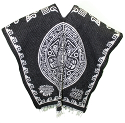 Heavy Blanket Mexican Poncho - Tribal 11