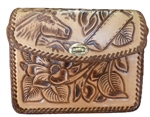 Hand Tooled Leather Purse - HT 01