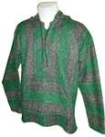 Baja Pullover - Dark Gray/Green (M)
