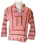 Baja Pullover - Red Striped (M)