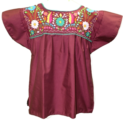 Embroidered Pueblo Blouse - Traditional 2