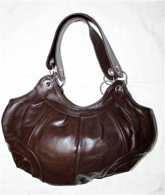Mexican Premium Leather Purse - Cafe #1