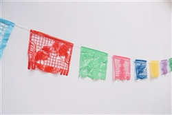 Fiesta Papel Picado Banners (Plastic Banners)