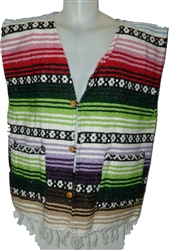 Poncho Vests - Color (Large)