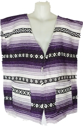 Poncho Vests - Purple (X-Large)