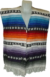 Poncho Vests - Color (X-Large)