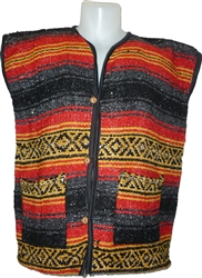 Poncho Vests - Red (Small)