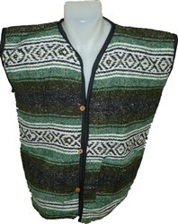 SMALL Pocho Vests - Green