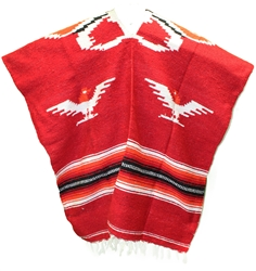 Mexican Tribal Western Poncho #1