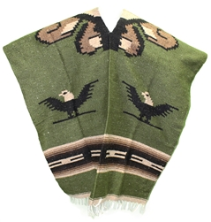 Mexican Tribal Western Poncho #2