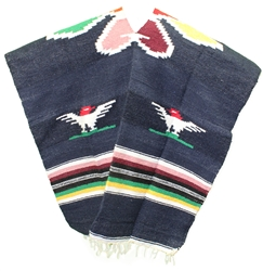 Mexican Tribal Western Poncho #6