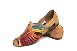 Women's Closed Toe Huaraches Sandals - Multi
