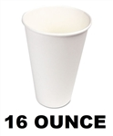 Wax Coated Paper Hot Cups 16 Ounce 1000ct