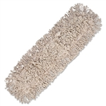 "In-House Brand WASHABLE Industrial Dry Dust Mop Heads 24"" x 5"" - 1 Each"