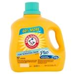Arm and Hammer Plus Sensitive Skin Friendly Fresh Scent Laundry Detergent - 107 loads - 160.5 fl oz